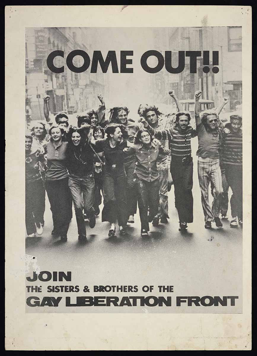 Gay-Liberation-Front,-Come-Out