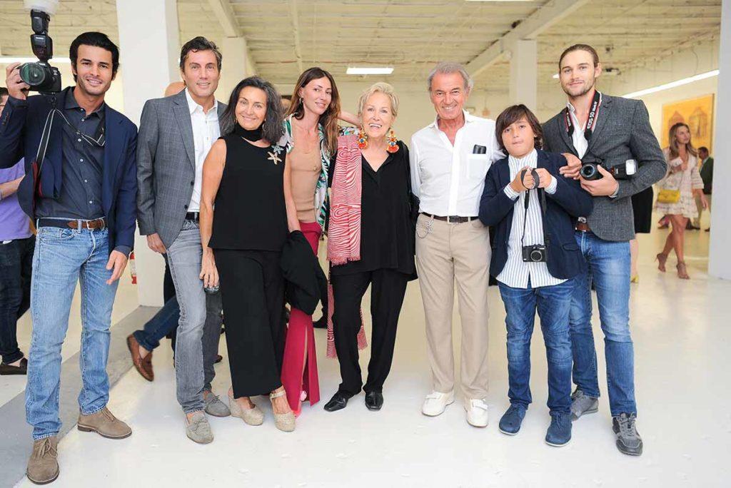 Basabe-Borgomanero-team-at-Gary-Nader-Gallery