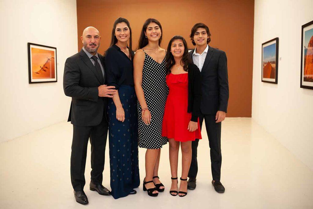 Gary,-Jennifer,-Milla,-Lola-&-Noah-at-Gary-Nader-Gallery-by-SAEP