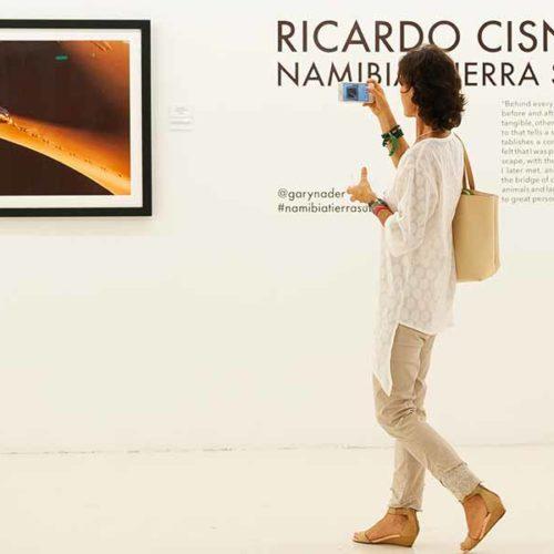 Doble inauguración en Gary Nader Art Centre