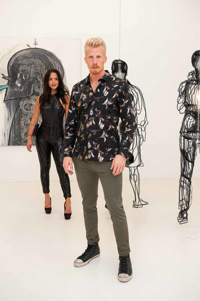 Samara-Campos-&-Ben-Johnson-at-Gary-Nader-Gallery-by-SAEP