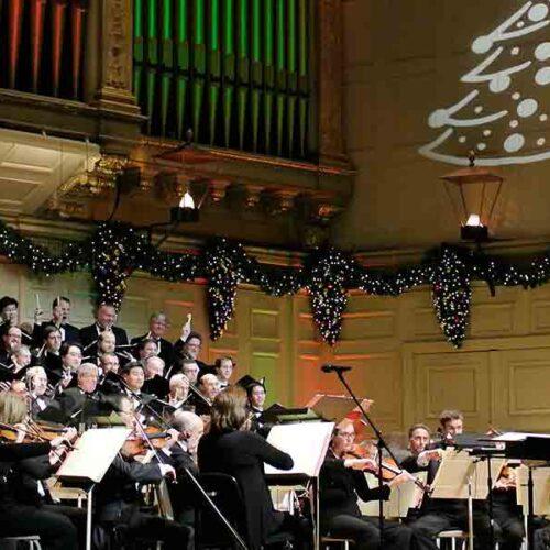 Por primera vez online el Concierto de Navidad más famoso
