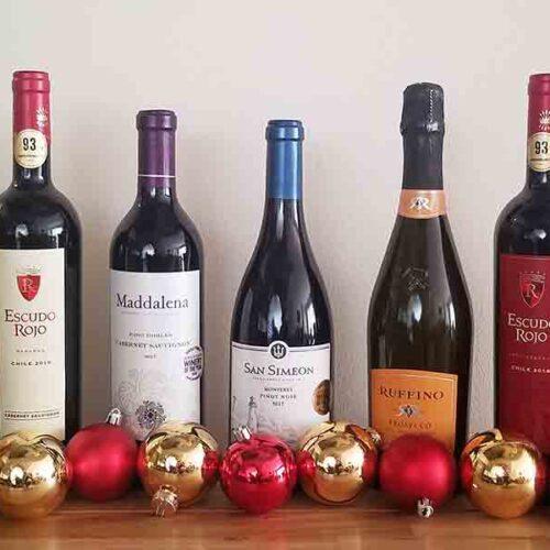 5 vinos para celebrar la Navidad en familia