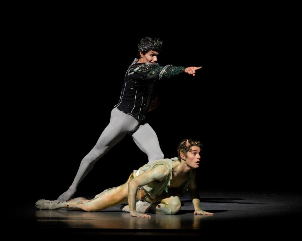 SF Ballet Midsummer Night Dream Oberon y Puck
