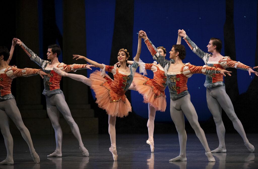 SF ballet Midsummer Night Dream bailarines