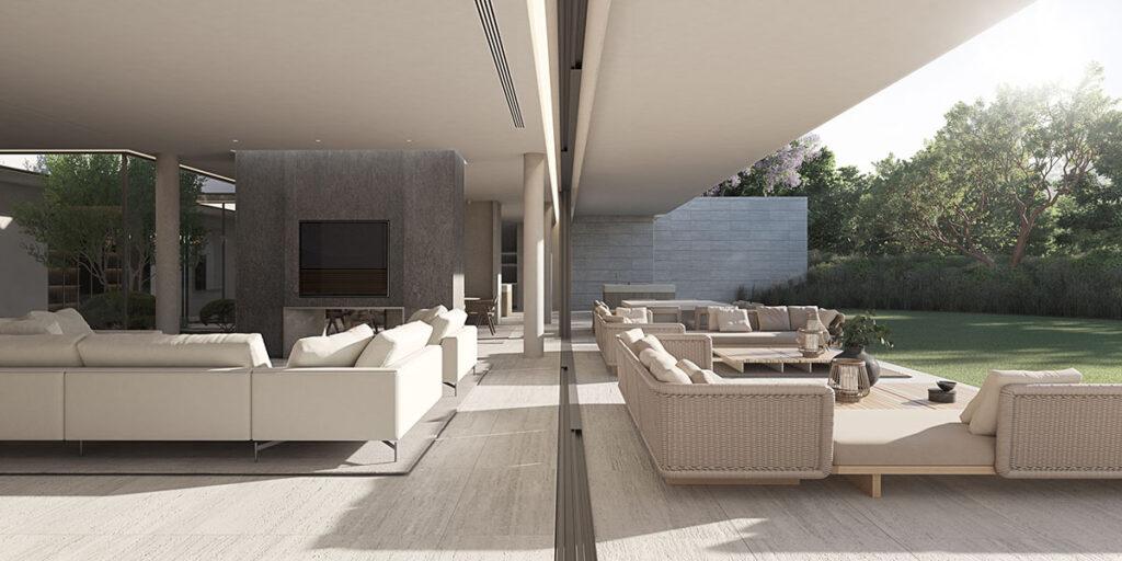 Villa-Seven-gardens-salon-terraza
