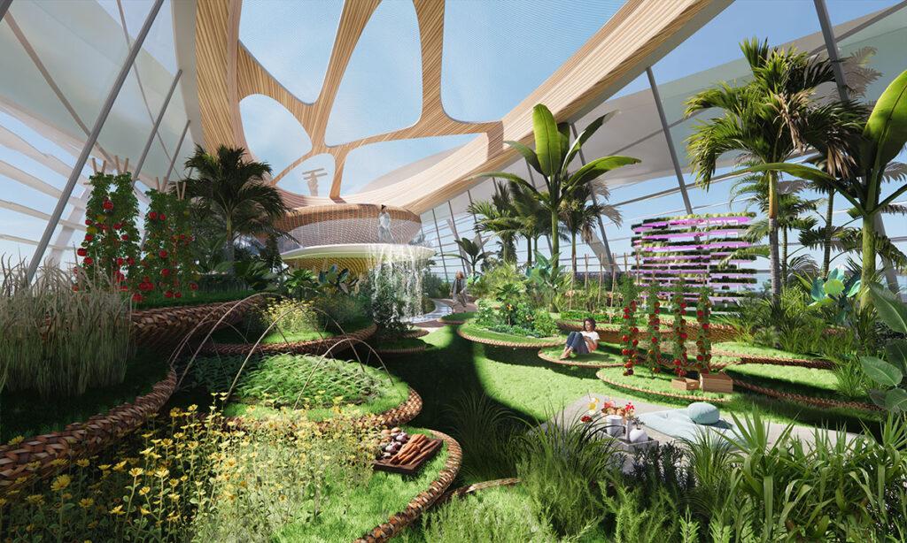 Green-house-interior-renewable-ernergy-nft