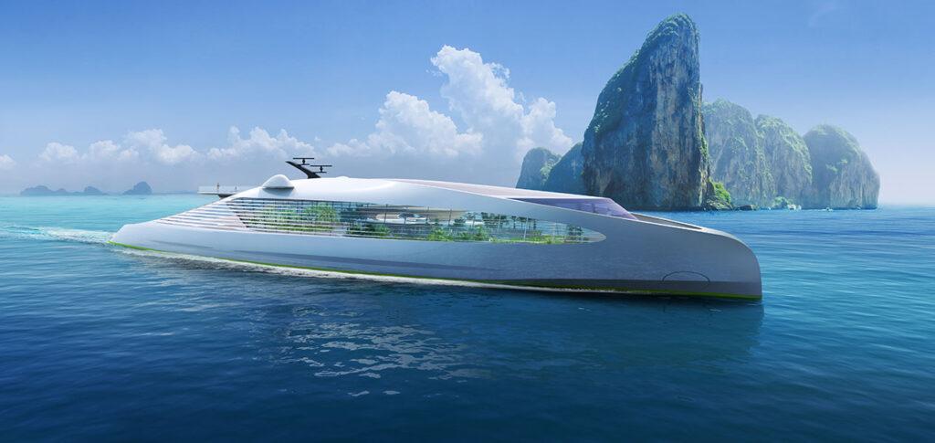 Zero-emission-yacht-design-nft